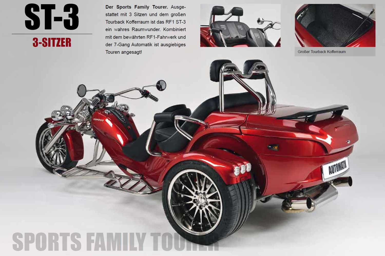 rewaco Modell ST3 Trike